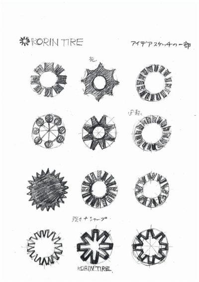 光輪タイヤ シンボルマーク-3