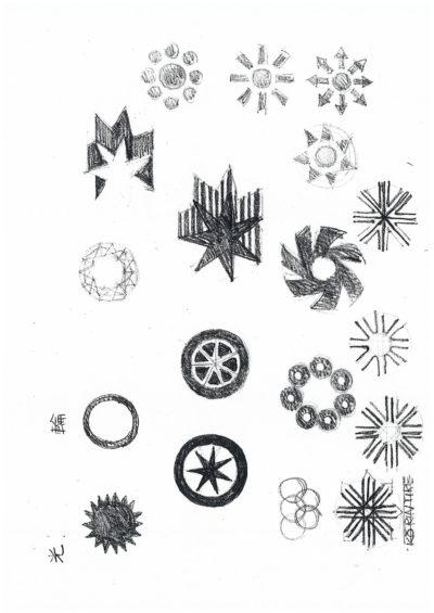 光輪タイヤ シンボルマーク-5